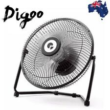 "Digoo 10"" Portable Rotatable USB Rechargeable Desktop Cooling Powerful Quiet Fan"
