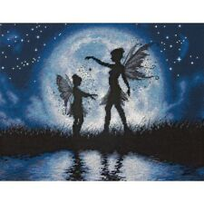 Twilight Silhouette Counted Cross Stitch Kit Dimensions NEW fairy night fantasy