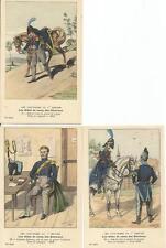 Cdt BUCQUOY - UNIFORMES 1er EMPIRE - Série 52 - les Aides de Camps des Généraux