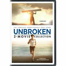UNBROKEN: 2-MOVIE COLLECTION (DVD, 2018) NEW! FREE Shipping! DOLBY DIGITAL 5.1