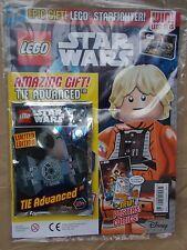 Menta UK edición 22 Lego Star Wars Magazine #22 + juego de Lego Juguete Regalo tie Advanced