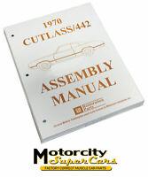 1970 Oldsmobile Cutlass F85 442 W30 Assembly Manual Restoration