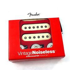 Genuine Fender Vintage Noiseless Stratocaster/Strat Pickups w/Pots 099-2115-000