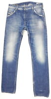 Diesel DNA Jeans Krooley Herren W31 L34 Blau Slim Carrot Used Look Destroyed