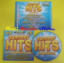 CD SUMMER HITS 2007 compilation SILVESTRI ZERO ASSOLUTO SEBA no lp mc dvd (C14)