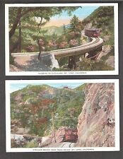 J41 Mt.Lowe,Cal. 2pcs TrackTrolley Bridge unused 1920s