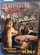 Terror de Maras y Pandillas - 4 Peliculas (Spanish DVD) ~  DVD new