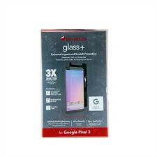 ZAGG SCREEN PROTECTOR FOR GOOGLE PIXEL 3 INVISIBLE SHIELD GLASS+ NEW 200301952