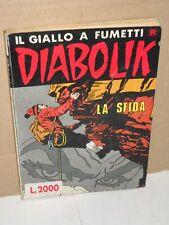 Diabolik La Sfida | fumetto Numero 316 Giugno 1991 | Ristampa dorso bianco