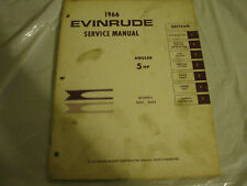 New listing 1966 evinrude 5 hp service manual