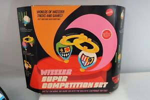 Wizzzer Super Competition Set Mattel 1970 No 4107 In Original NEW OPEN BOX