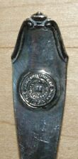 Antique Sterling Souvenir Spoon Hamline University Regents Seal Minnesota