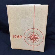 1958-1959 Yearbook Catalina High School Tucson Arizona The Torch Trojans CHS VTG