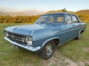 1966 Holden HR Premier auto sedan with black and white plates and current RWC