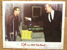 Paul Newman & Burl Ives in Cat on a Hot Tin Roof 1958 MGM  Big Daddy