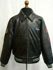 Mens Vintage Redskins Leather Varsity Jacket XL 46R