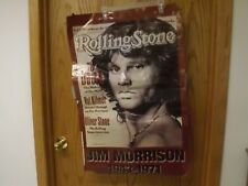 Old Poster-Jim Morrison 1971 - Not In Excellent Condition