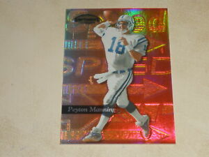1999 Playoff Contenders SSD Speed Red #104 Peyton Manning 046/100
