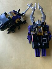 G1 Vintage Transformers Decpticon Insecticon lot Bombshell Shrapnel 1985 Toys