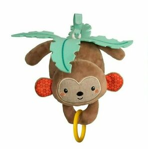 Infantino Activity Gym Replacement Hanging Musical Monkey Toy Twist and Fold