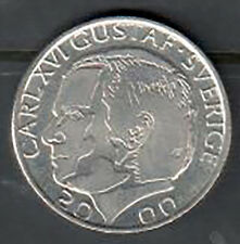 Sweden 1 Krona Coin - 2000