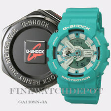 Authentic Casio G-Shock Men's X Large Teal Digital Watch GA110SN-3A