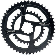 Gearoop Replacement Chainring 48T/30T for SRAM Direct Mount 3 Bolts