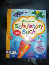 Mein neues Schulstart Buch * NEU * Spiele & Übungen für die 1. Klasse *