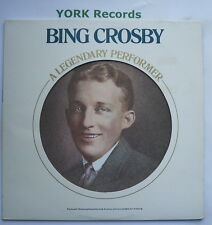 BING CROSBY - A Legendary Performer - Ex Con LP Record RCA Victor PL 12086