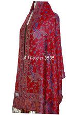 Gorgeous Pashmina Shawl/Wrap-Red.Blue#A