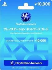 Play station carte réseau 10000Yen Japan PSN japonais PSP PS 3 Authentic Free Ship