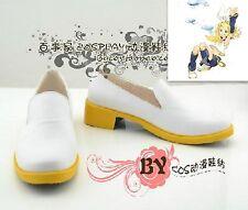 Cosplay Schuhe aus PU Kagamine Rin Vocaloid Anime Manga Handarbeit Gr.34-44