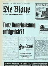 BL 81/82  FC Bayern München- Eintr.Braunschweig (Blaue)