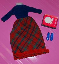 SKIPPER PARTY PLATTER OUTFIT DRESS RECORD PLAYER AND SHOES