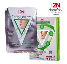 2n Shaping Slim Lift Face facia Paper Mask 10 pcs V-Line Slimming All Skin Types