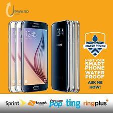 Samsung Galaxy S6 SM-G920P (32GB, 64GB, 128GB) Sprint Boost Ting FreedomPop