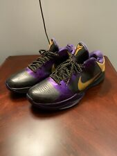Kobe Zoom 5 Lakers Edition - Size 12