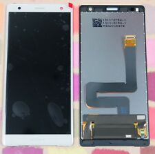 GENUINE WHITE SILVER SONY XPERIA XZ2 H8216 IPS  LCD SCREEN DISPLAY No ADHESIVE