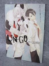 UN-GO Design Works YUN KOUGA PAKO Art Material Book Comic Anime *