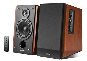 Edifier R1700BT Active Bluetooth Bookshelf Speaker Set - Brown