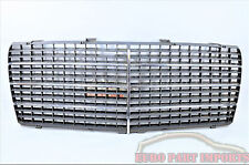 Mercedes W124 Front Radiator Hood Chrome Grille Genuine Germany OEM 1248880323