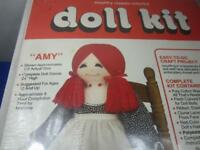 Vintage Country Classic Doll Kit Trends #C101 Amy New in Box NOS    (A10)