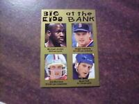 MICHAEL JORDAN JOE MONTANA # ROGER CLEMENS # B HULL # BIG KIDS AT THE BANK CARD