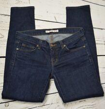 J Brand 27 The Skinny Dark Pure Wash Denim Jeans 29 x 28