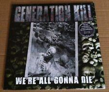 EXODUS Rob Dukes GENERATION KILL We're All Gonna Die EUROPE LP Vinyl SEALED