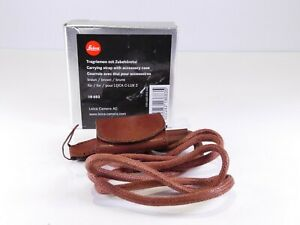 LEICA 18683 CARRYING STRAP & ACCESSORY CASE FOR LEICA C-LUX 2 BOXED E*