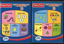 Fisher-Price:  Kindergarten Workbooks 1 & 2 -  Number Order,Thinking Skills  etc