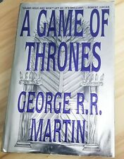 A GAME OF THRONES George R.R. Martin 1st Ed./1st Print HC/DJ
