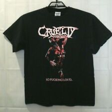 Cruelty Cabinets Mens Lg Rock Band Black Graphic T Shirt L