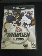 Madden NFL 2005 (Nintendo GameCube, 2004) - Complete!!!!!